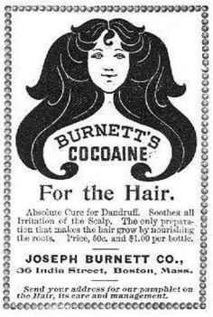 Burnett's Cocaine for the Hair.