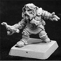 Amazon.com: Reaper Miniatures (Snorri, Dwarf Fighter 14130) RPG 28mm Minis: Toys & Games