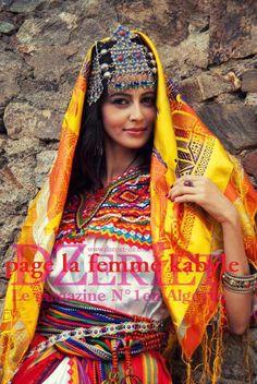 Robe kabyle Algérienne