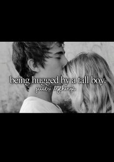 Girl thing! Haha its just that boys hug me and it makes me feel like I'm accepted by my best guy friends love ya :*