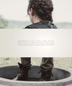 """""""Suddenly my eyes are open, everything comes into focus. Oh, we are all illuminated. Lights are shining on our faces, blinding"""" The arena #TheHungerGames #KatnissEverdeen"""
