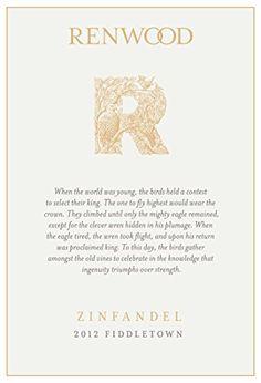Red Wine - 2012 Renwood Fiddletown Zinfandel 750 mL Wine >>> You can find more details by visiting the image link.