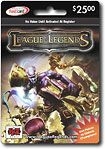 League of Legends Game Card ($25)