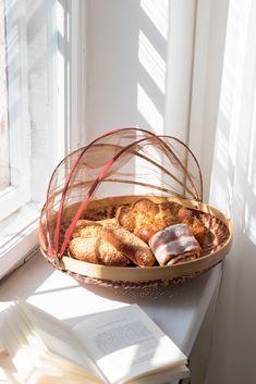 Kosz do przechowywania | Kosze z moskitierą | Dekoracje do domu | AWAI Concept Store
