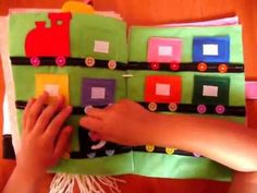 MOM'S LOVE Quiet book / Libro de fieltro - YouTube