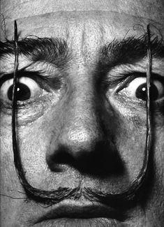 Salvador Dali, 1953 // Philippe Halsman