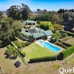 Pleasing first impressions become lasting upon inspection of this picturesque and very private property with sun-soaked character residence on a ..