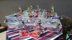 Cheap and Easy DIY Softball Party Decorations for an end of the year pool party along with other budget friendly party ideas. Softball Party Decorations, Easy Diy, Simple Diy, Facial Cleanser, Face Wash, Fragrance, Gift Wrapping, Inspired, Games