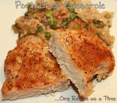 Pork Chop Casserole - Easy One Dish Meal