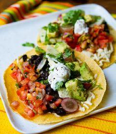 Fiesta Vegan Tacos #Recipe #Food #Dinner