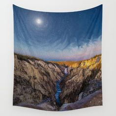 Buy Artist's Point Sunrise by Lotus Effects as a high quality Wall Tapestry. Worldwide shipping available at Society6.com.