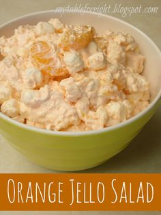 My Table For Eight {by Jen}: Orange Jello Salad