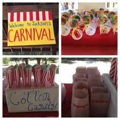 Carnival theme birthday party