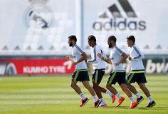 Entrenamiento | Nacho, Casemiro, Isco & Kovacic.