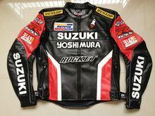 Nueva! 2016 F1 Racing trajes, a prueba de viento hombres motos raza PU Suzuki chaquetas de la motocicleta moto jaqueta motocross chaqueta de la ropa(China (Mainland))