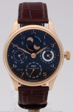 IWC Portugieser Perpetual Calendar - 5021-019  #montredo #iwc #portugieser #perpetualcalendar #watches