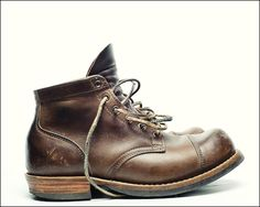 Viberg. #wearandtear #leather #boots