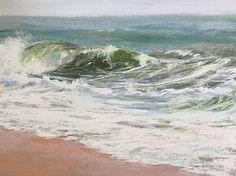 "Jeanne Rosier Smith ~ ""Ocean Mist"" ~ Pastel 9 x 12"