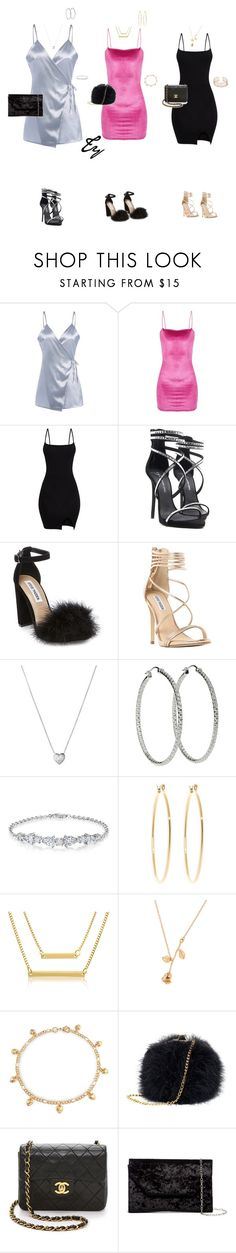 """""""Untitled #419"""" by flydreamersfashion on Polyvore featuring Steve Madden, Links of London, Brooks Brothers, Bling Jewelry, Chanel and Halogen"""