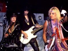 Vince, Mick, Nikki