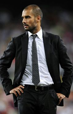 Pep Guardiola- hate his former team, love him!!!!