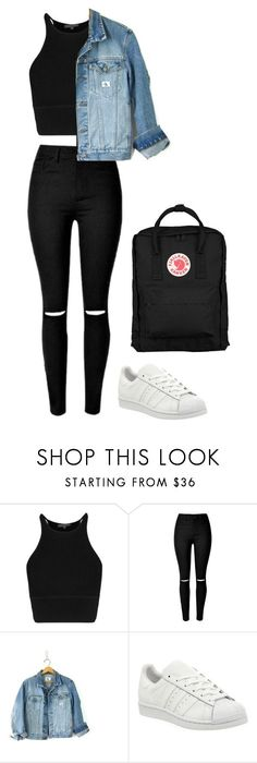 """Untitled #473"" by maritzawaffles ❤ liked on Polyvore featuring Calvin Klein, adidas and Fjällräven"