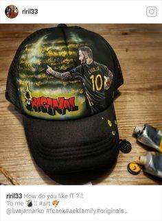 To ORIGINAL καπέλο του Λιβάγια (ΦΩΤΟ) - AEK1924.gr Do You Like It, First Love, Football, The Originals, Athens, Soccer, Futbol, American Football