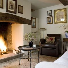 i really miss a cosy cottage fireplace
