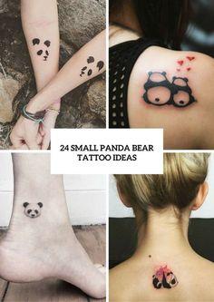 Small Panda Bear Tattoo Ideas For Girls