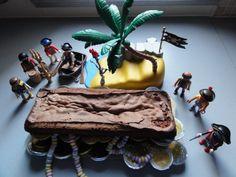 Gâteau coffre à trésor