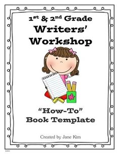 writers workshop lesson plan template - all about books this unit has lesson plans and templates