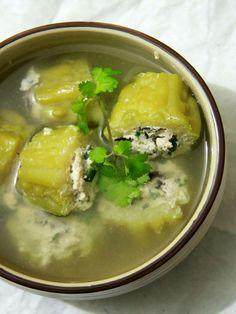 canh khổ qua nhồi thịt, vietnamese food