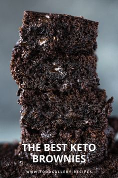 They are thick, super fudgy, melt in your mouth and extra rich. Grab a glass of milk cause you will need it! Almond milk that is. Gotta keep it keto-friendly. Cake Recipes At Home, Cake Recipes From Scratch, Best Cake Recipes, Bread Recipes, Easy Recipes, Cake Brownies, Keto Brownies, Homemade Frosting Recipes, Homemade Cakes