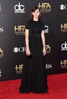 Pin for Later: All' eure Lieblingsstars drängelten sich bei den Hollywood Film Awards Felicity Jones