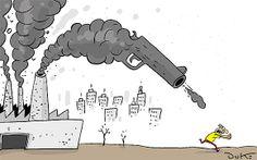 Poluição provoca 7 milhões de mortes por ano, segundo a OMS