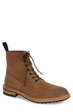 $140. Free shipping and returns on 1901 'Aberdeen' Wingtip Boot (Men) at…