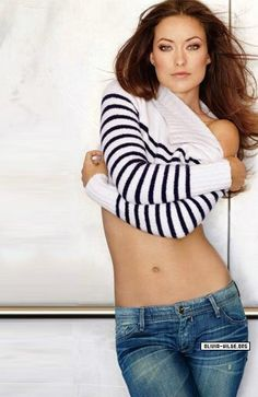 olivia wilde she is so freakin beautiful :) - Yeah, in my next life I wouldn't mind having her body.