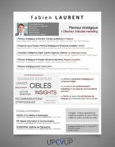 CV Ingénieur Informatique Modèle CV sur mesure moderne - UPCVUP Cv Ingenieur, Marketing, Job Resume Template, Modern