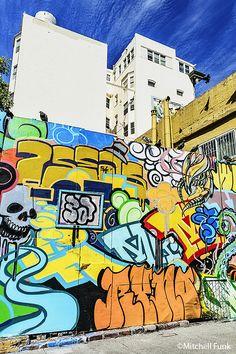Color In The Tenderloin District,  San Francisco  mitchellfunk.com