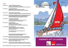 Flyer zur Schifffahrt mit Christian Ude - 1