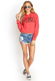 Weirdo Hoodie | FOREVER21 #Graphic #MustHave #OOTD