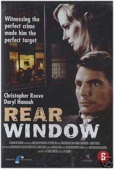 Rear Window (1998) Modern remake of Rear Window in which the lead character is paralyzed and lives in a high-tech home filled with assistive technology. Christopher Reeve, Daryl Hannah, Robert Forster...18b