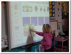 Smartboard + cute school stuff