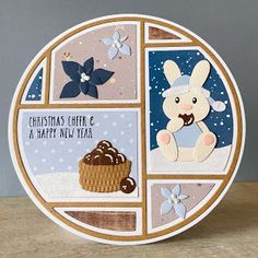 Baby Bunnies, Bunny, Marianne Design, Cheer, Christmas Cards, Have Fun, Decorative Plates, December, Doodles