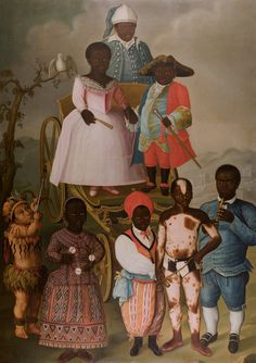 Jose C. - People of Color in European Art History Native American History, African History, African American History, Native American Indians, African Art, Native Americans, Black History Facts, Art History, Human Zoo