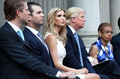 As Donald Trump's incendiary run for president burns white-hot, his eldest daughter, a business and media fixture in her own right, has shown support without becoming collateral damage.