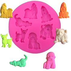 Six Dogs Design Silicone Mold