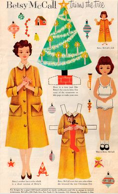 Betsy McCall Vintage Ad from 1954. Loved getting the magazine to see the paper dolls