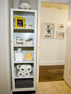 Style for bath shelves--Bathroom Over Toilet Shelf Design, Pictures, Remodel, Decor and Ideas - page 15