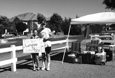 Helen and Philip Martin's granddaughter, Elsa Alexander, recently sold lemonade on Lemonade Day to raise money for the St. Vincent de Paul Food Bank in Payson, AZ.